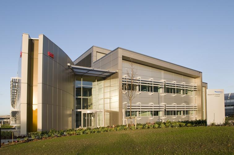 Research Complex, R92, building progress