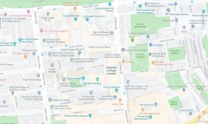 Imperial College London Map